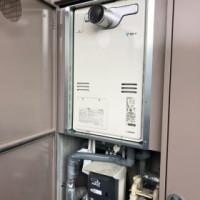 交換完了 HT4216ARS-4-SW6Q(2温度タイプ)+取り替え用金枠で取替え